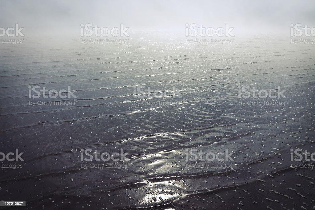 Foggy Sea royalty-free stock photo