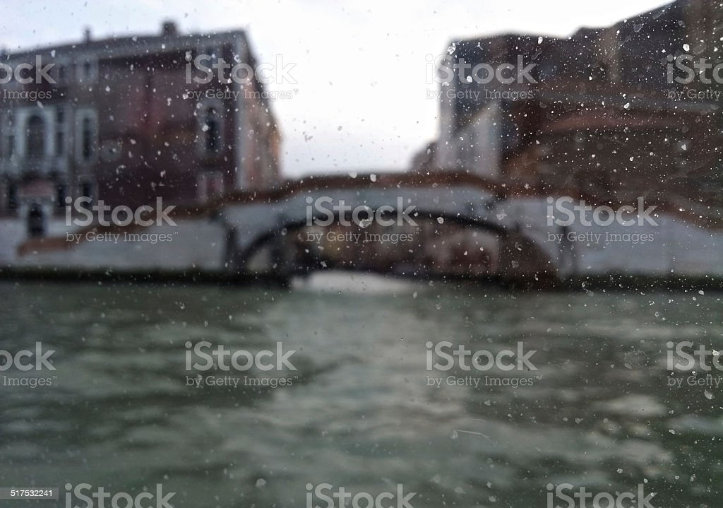 Foggy Venice royalty-free stock photo