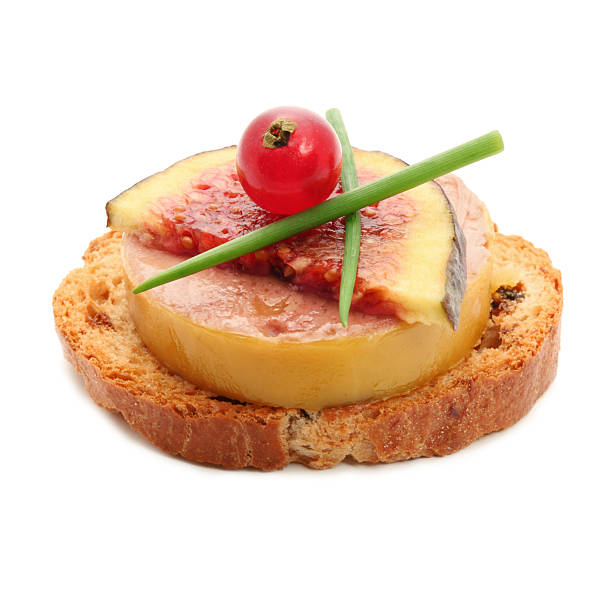 Foie gras pictures images and stock photos istock for Fois gras canape