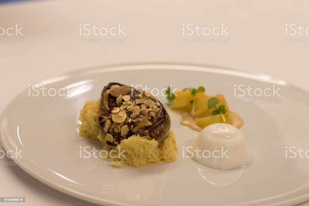 foie gras stock photo