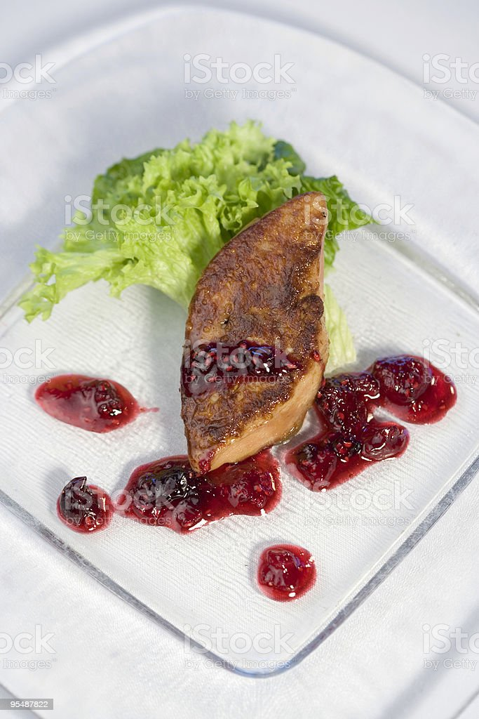 Foie Gras royalty-free stock photo