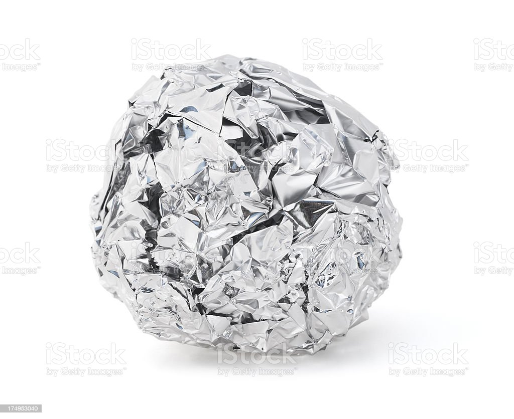 Foil Ball stock photo