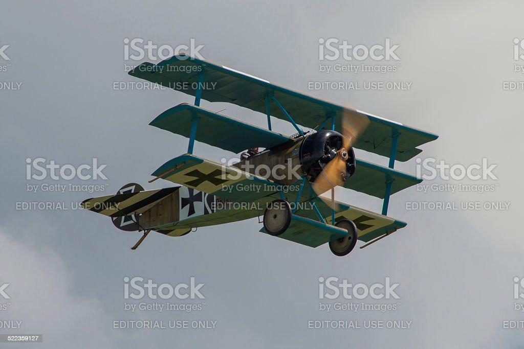 Fokker DR1 Triplane stock photo