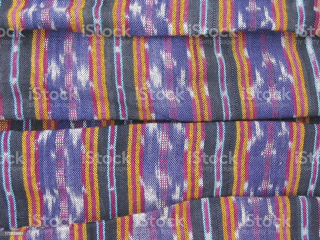 Folded Batiks 1 royalty-free stock photo