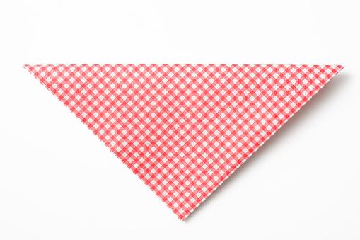 pink checkered paper napkins