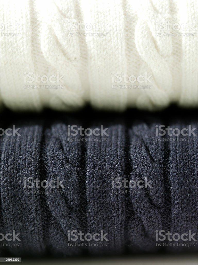 folded sweaters royalty-free stock photo
