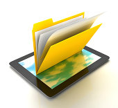 Folder on the Tablet PC