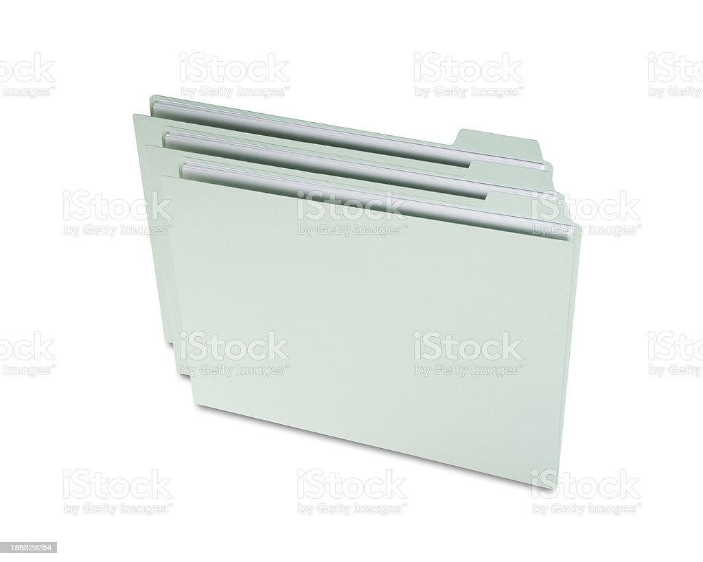 folders and files royalty-free stock photo