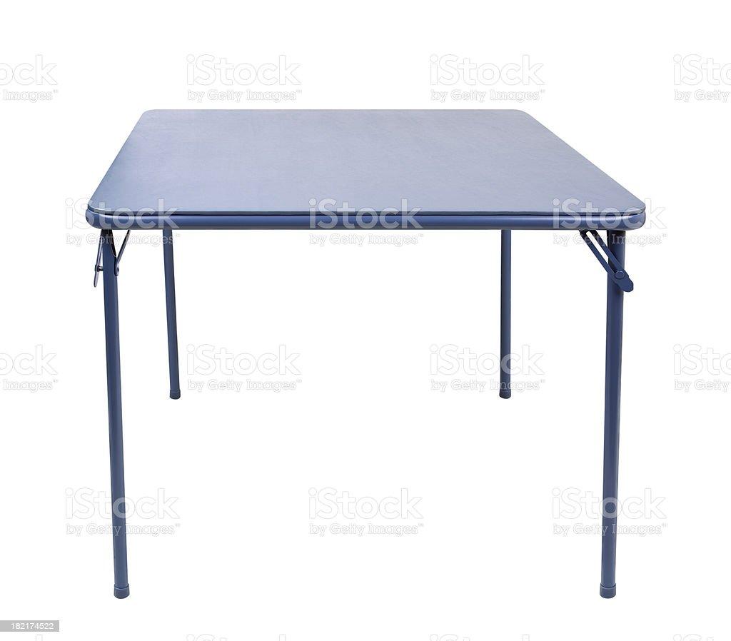 Folding Table Isolated stock photo