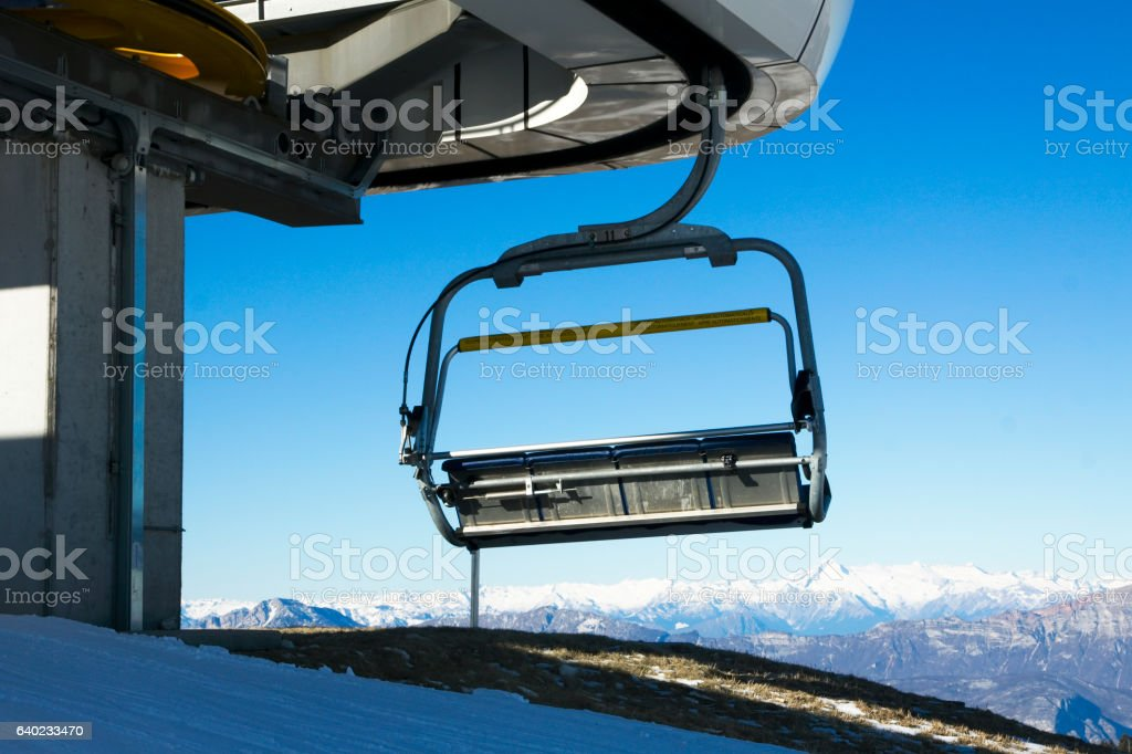 Folgaria - Ski Resort stock photo