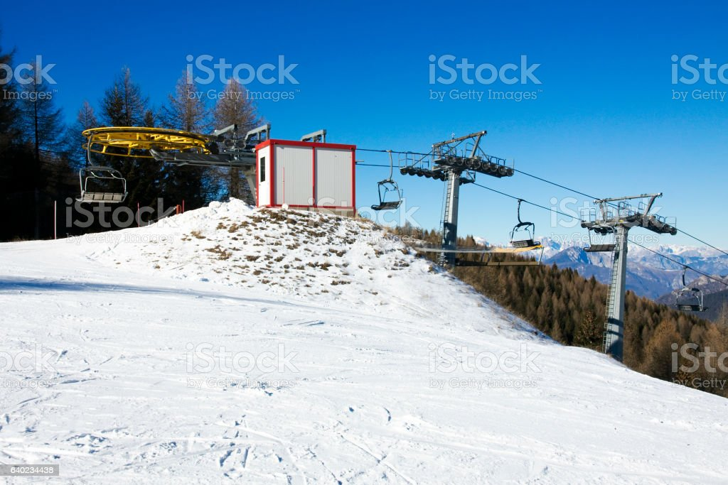 Folgaria - Ski Resort stock photo