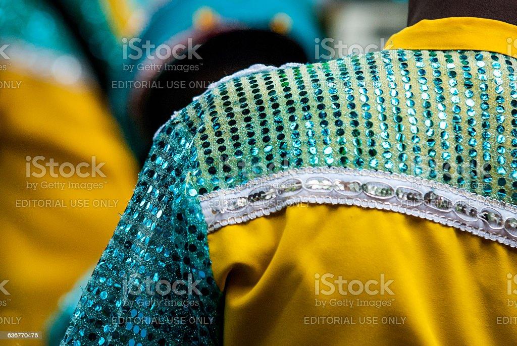 Folia de Reis tradition in Brazil stock photo