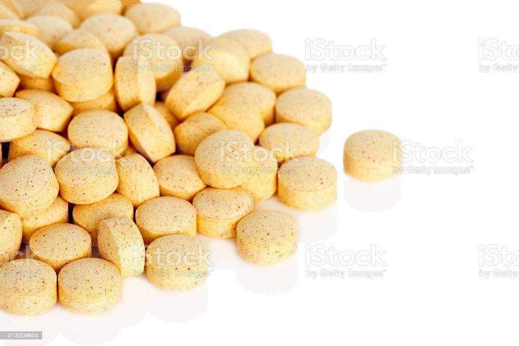 Folsäure Vitamin-Zusatzpräparate – Foto