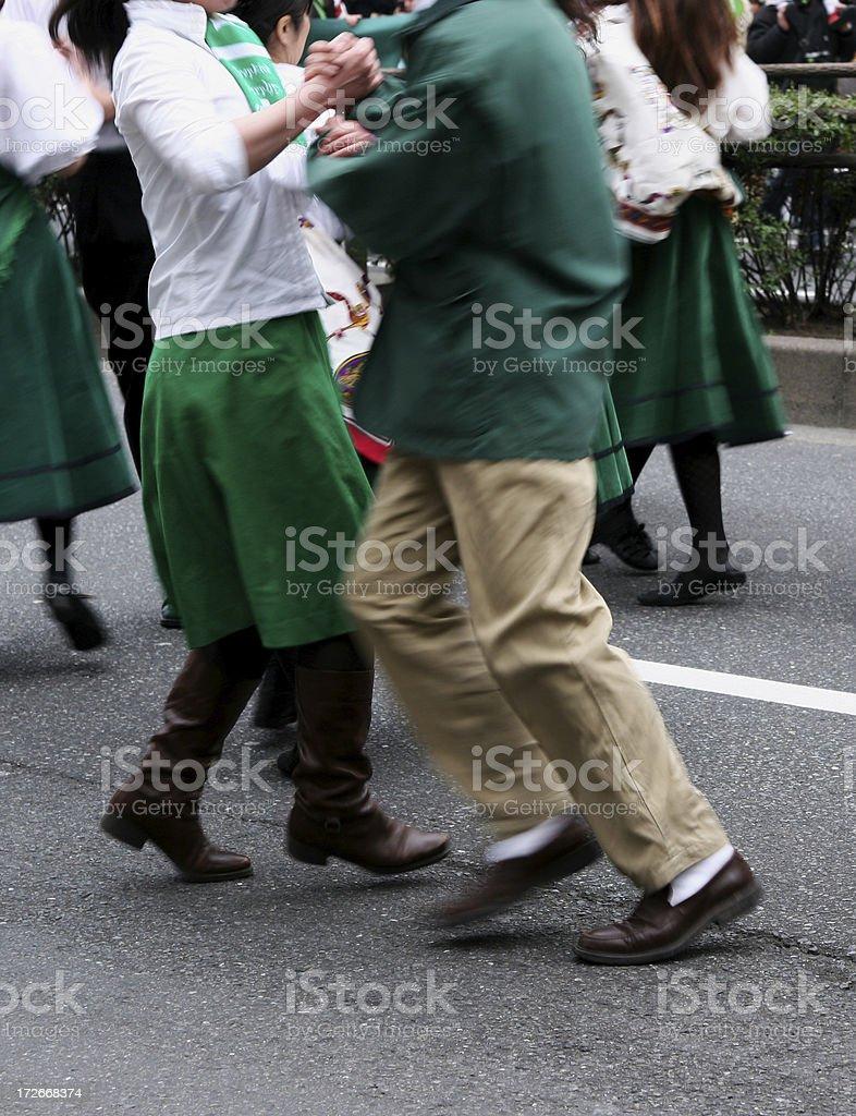 Folk dance royalty-free stock photo
