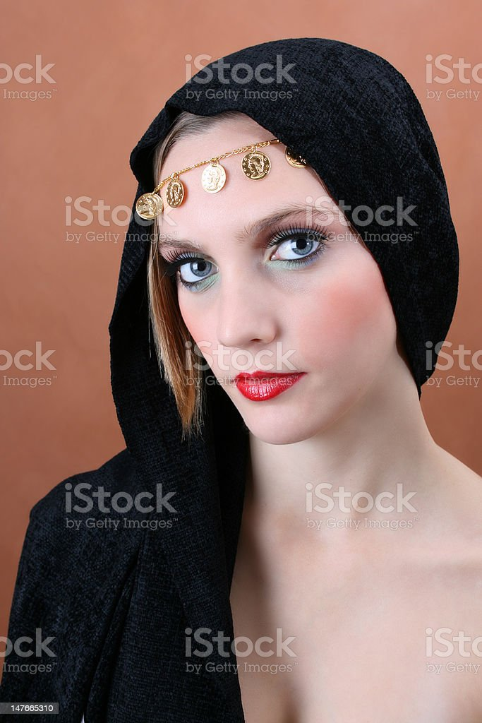 Folk Dress stock photo