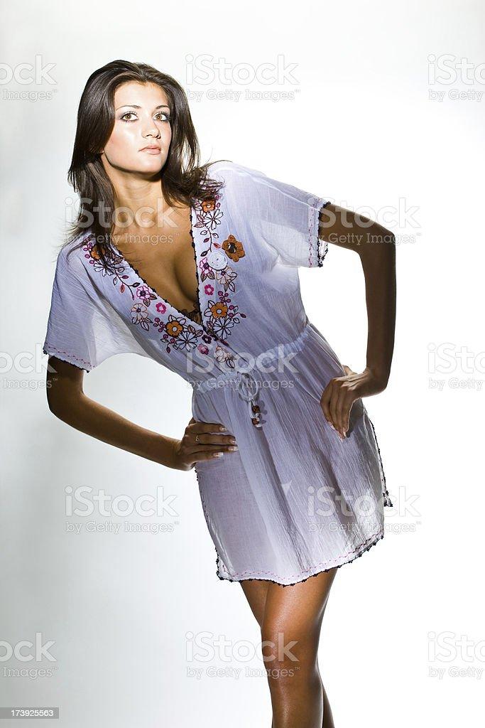 Folklore fashion stock photo