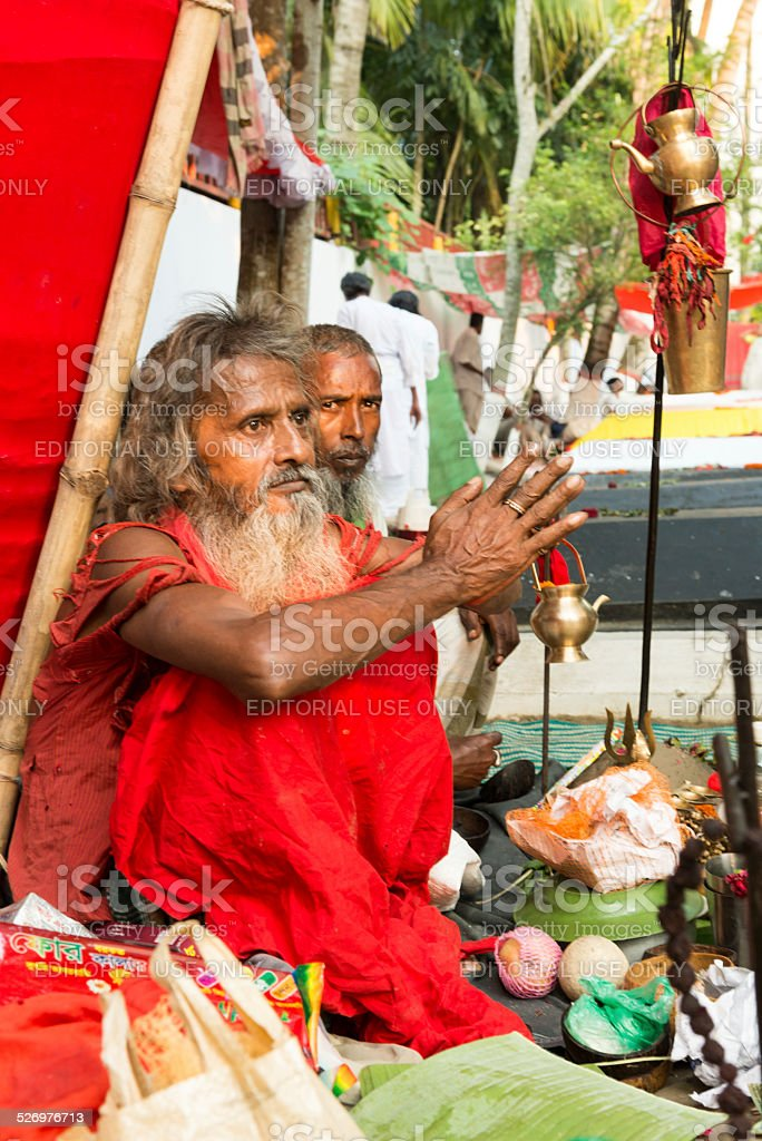 Follower of Lalon Shai stock photo