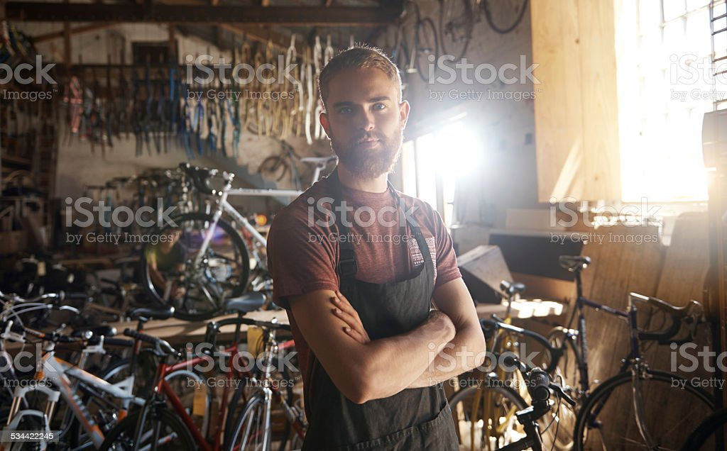 Following my dream stock photo