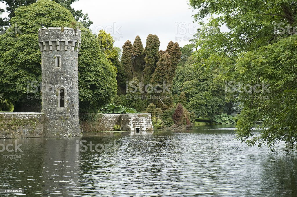 Folly tower royalty-free stock photo