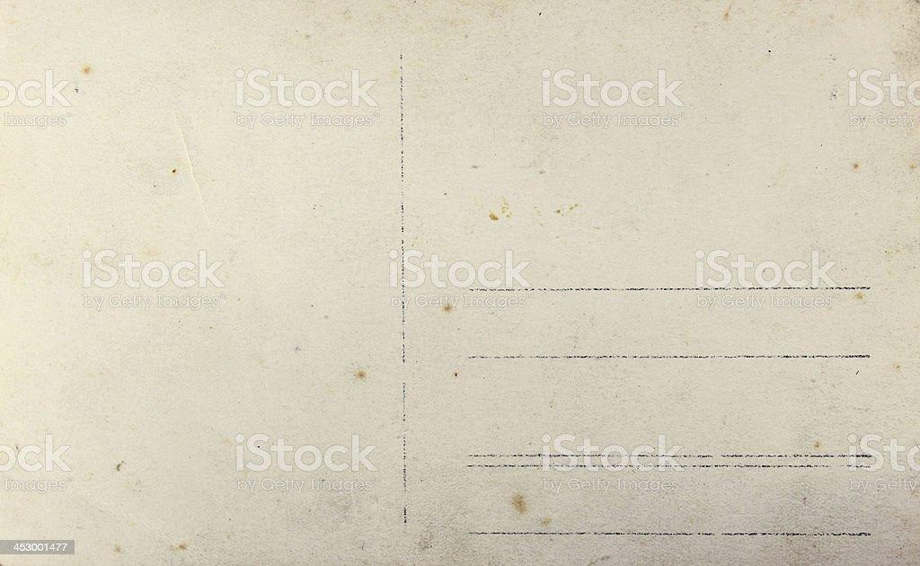 Fond - ancienne carte postale stock photo