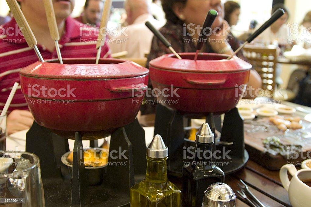 fondue royalty-free stock photo