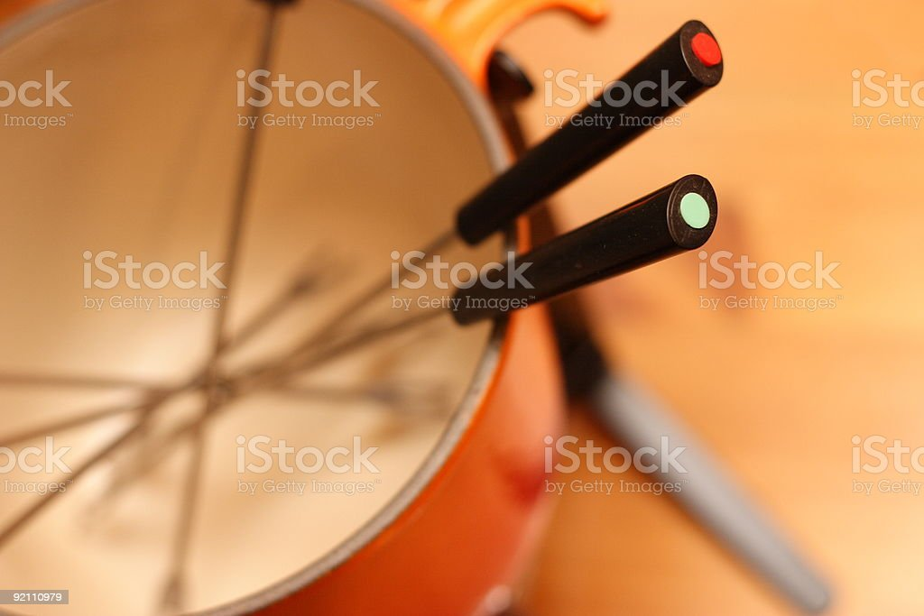Fondue royalty-free stock photo