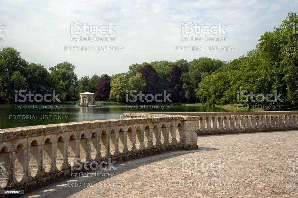 Fontainebleau Pond stock photo