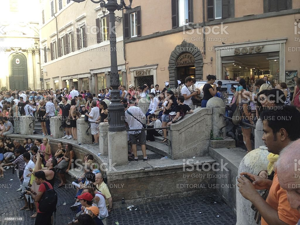Fontana Di Trevi. royalty-free stock photo