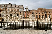fontana pretoria, palermo, sicily, italy