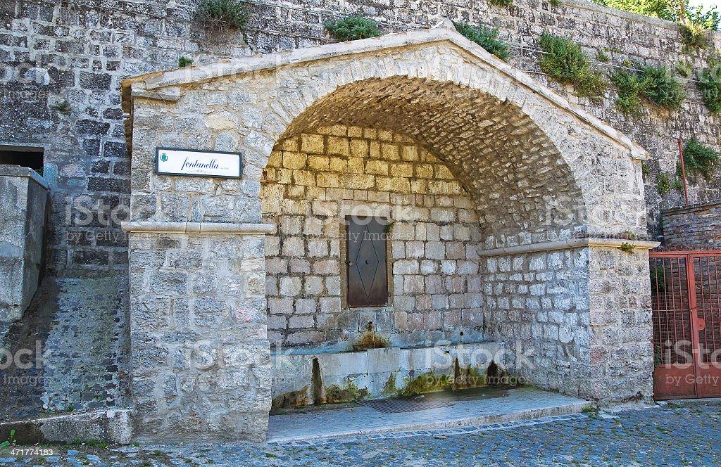 Fontanella. Alberona. Puglia. Italy. royalty-free stock photo