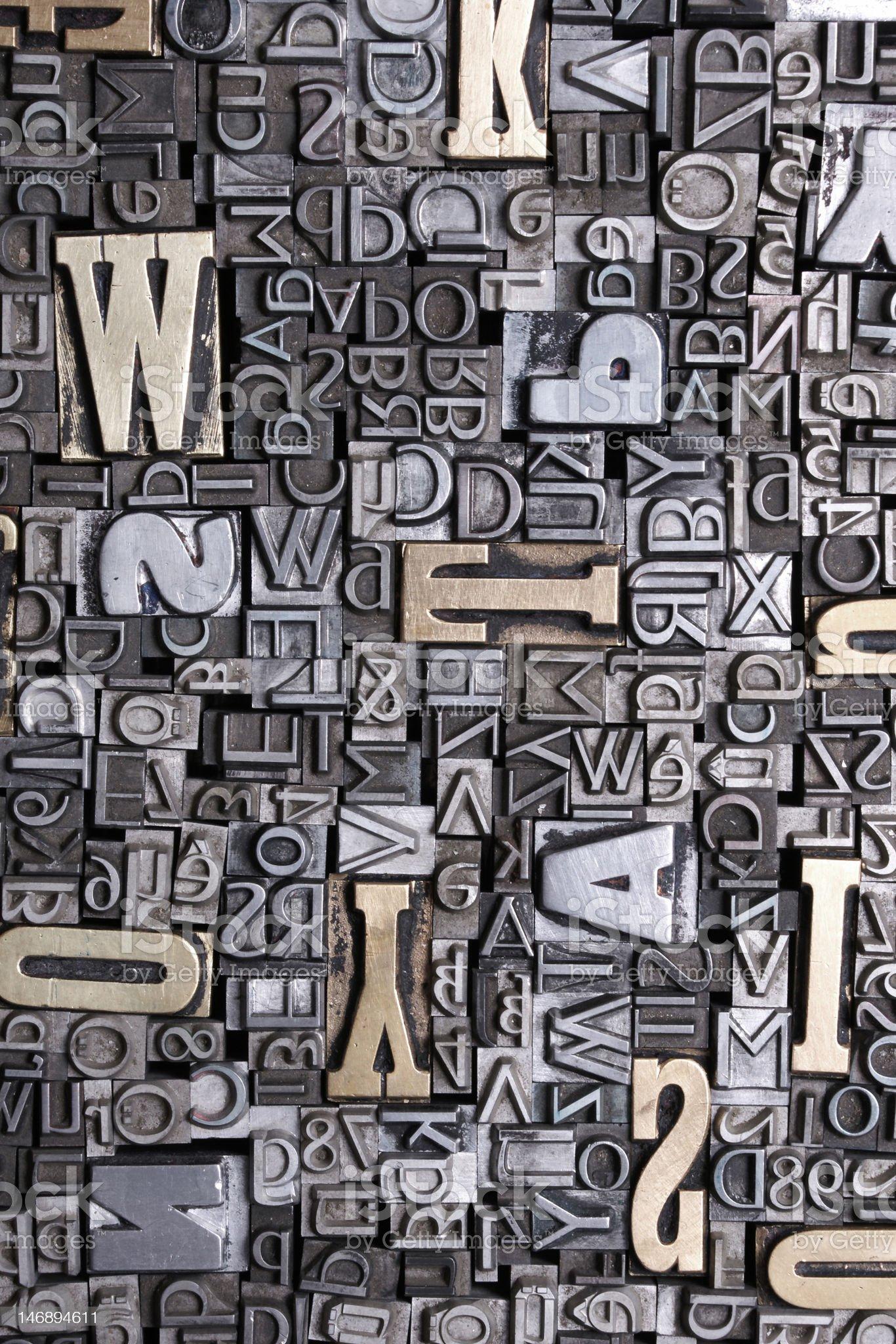 fonts bacground royalty-free stock photo