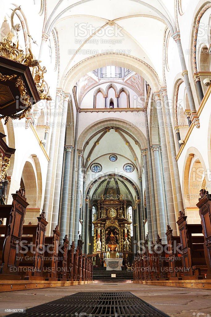 Abtei Essen Werden stock photo