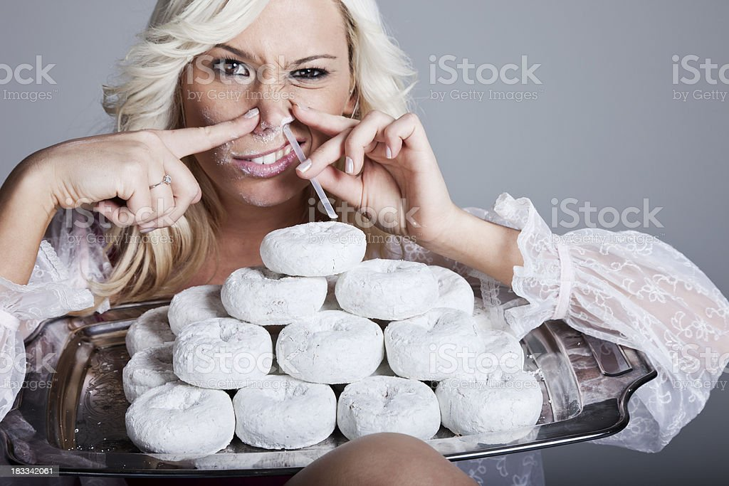 Food Addiction royalty-free stock photo
