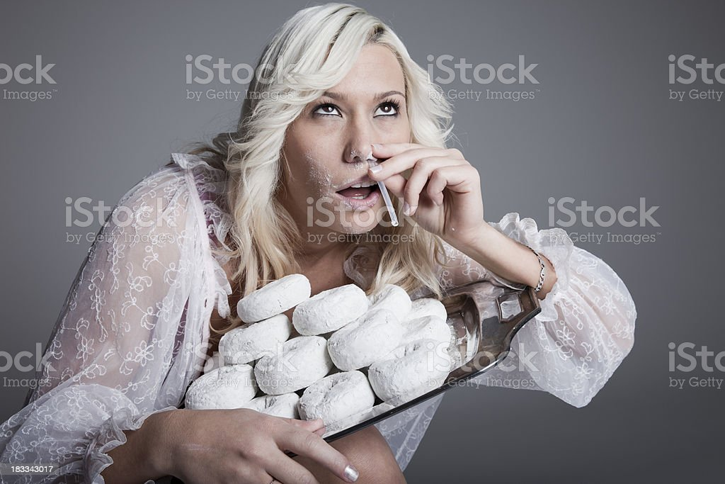 Food Addiction stock photo