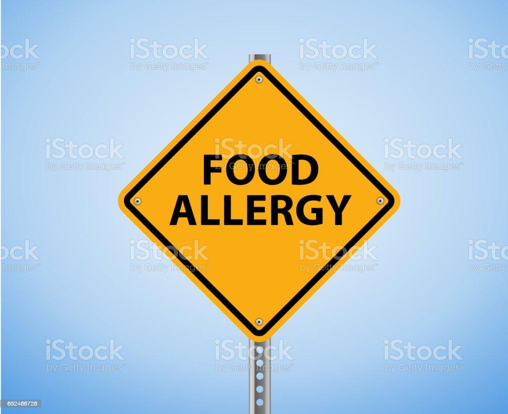 Food Allergy stock photo