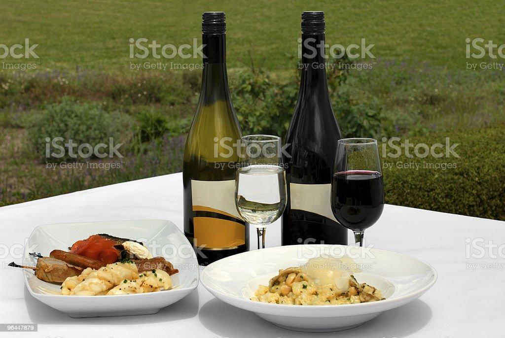 Food & Wine royalty-free stock photo