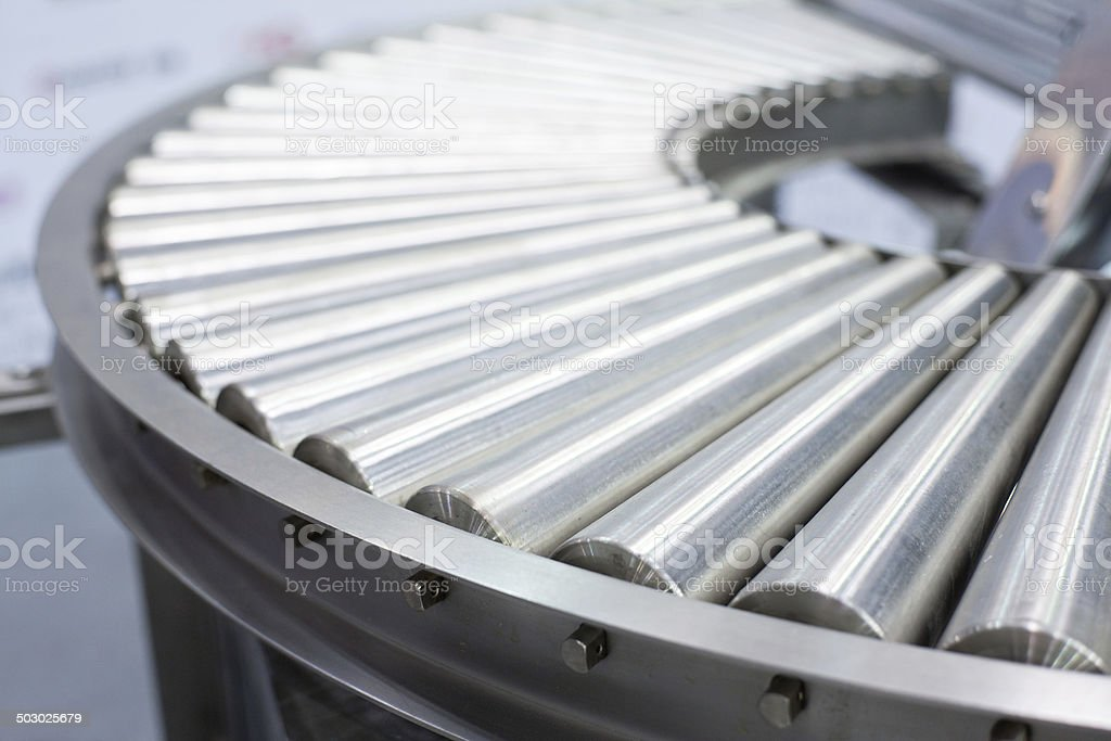 Food automated processing machines stock photo