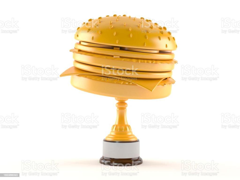 Food award stock photo