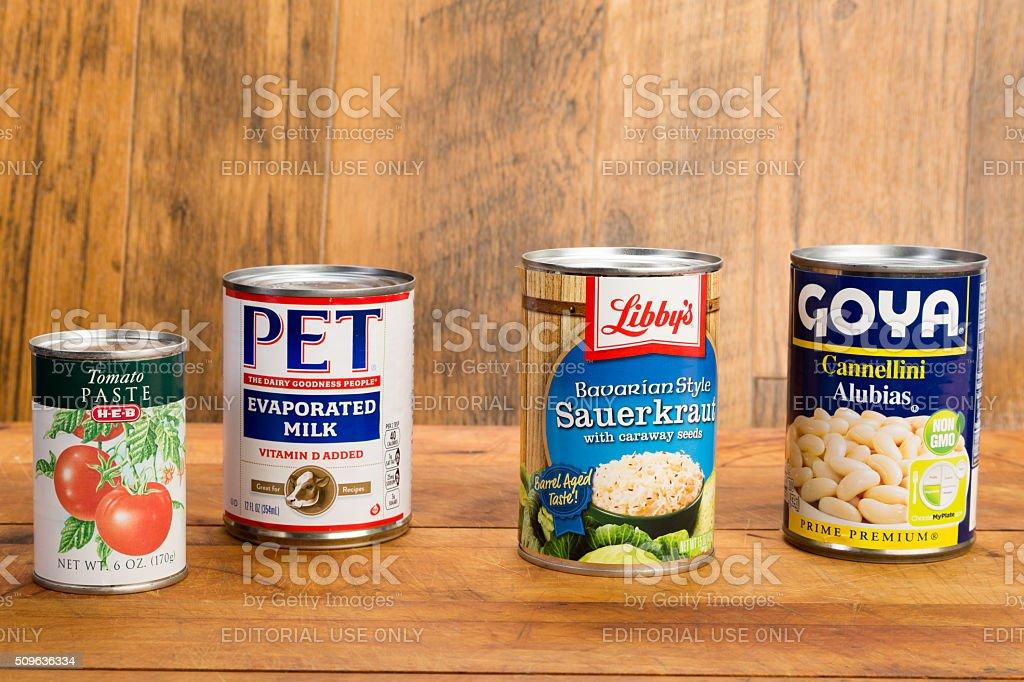 Food Bank Shortage stock photo