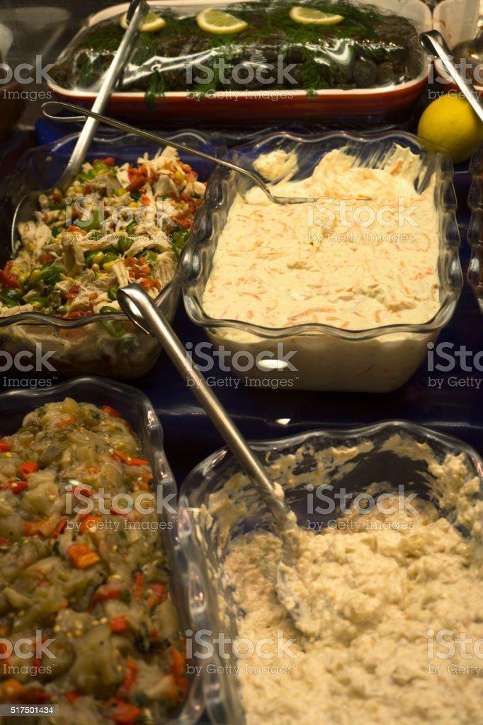 Food Bar stock photo