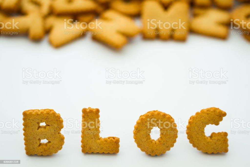Food Blog stock photo