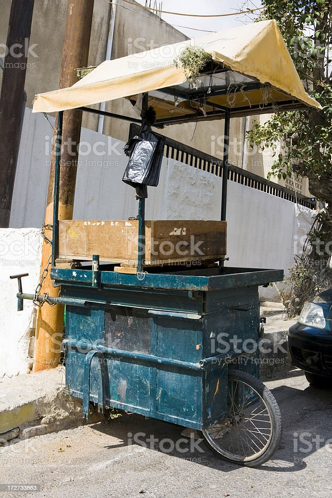 Food Cart royalty-free stock photo