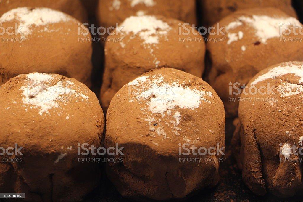 food : chocolate cake stock photo