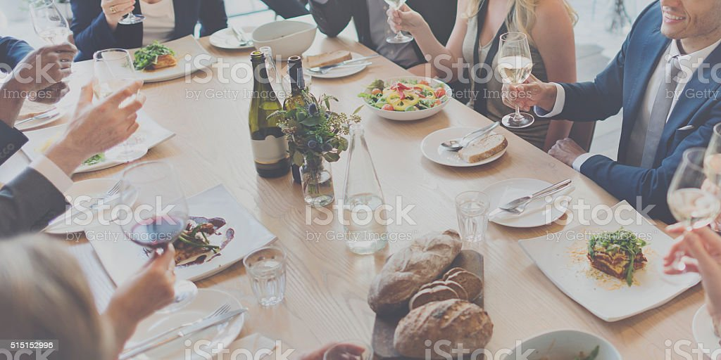 Food Choice Dining Eating Event Festive Buffet Concept stock photo