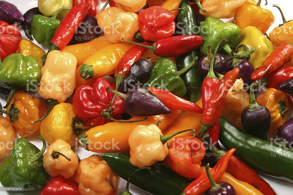 Food Colors  Spicy & Hot royalty-free stock photo