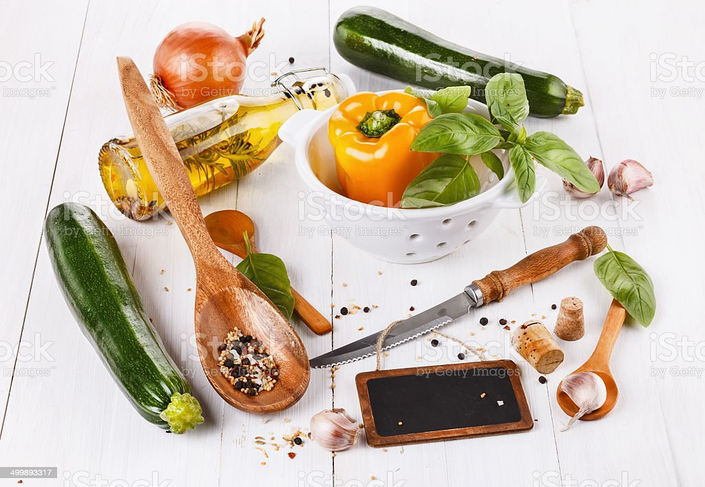 Food concept - cooking vegetables royalty-free stock photo