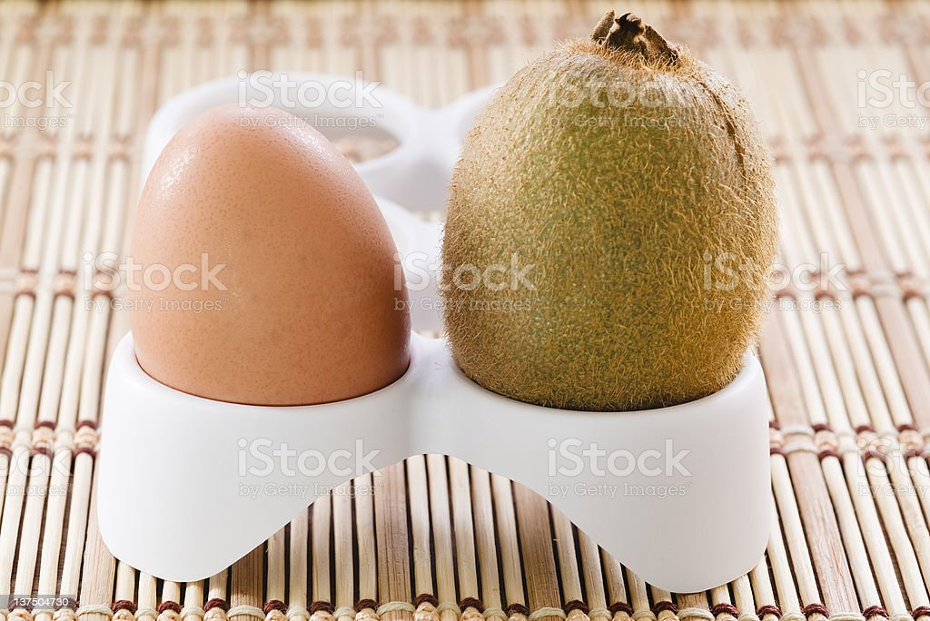 Food confusion stock photo