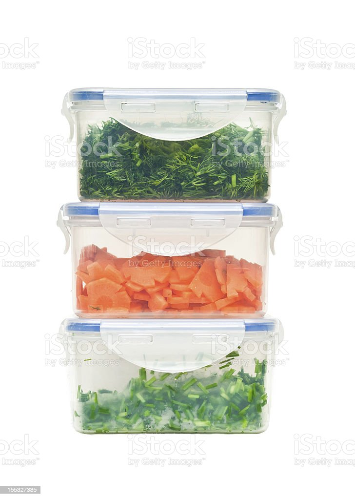food containers royalty-free stock photo