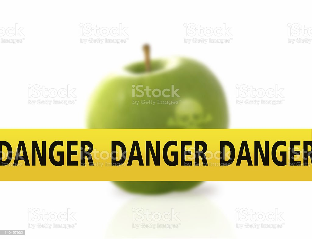 food danger royalty-free stock photo