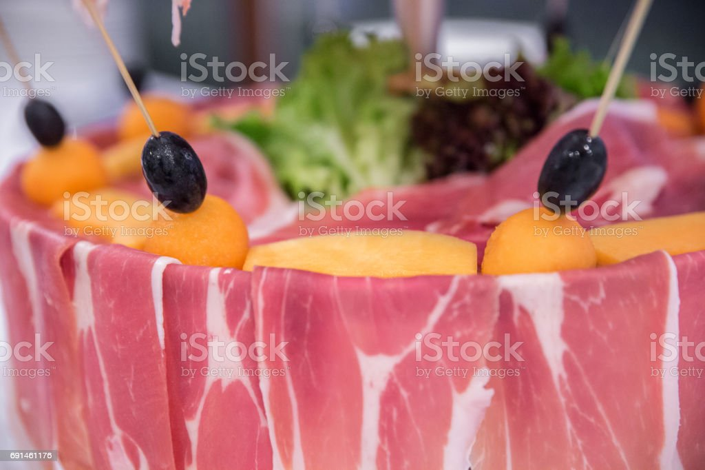 Food detail stock photo